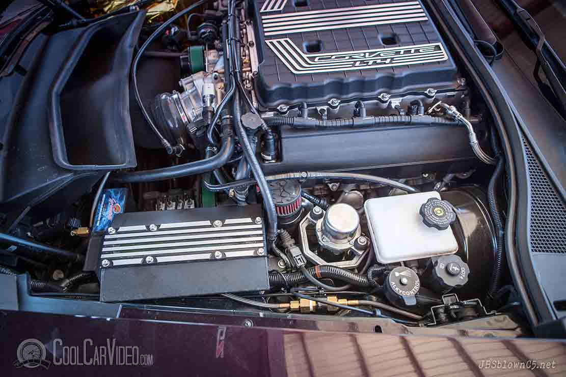 supercharged vette