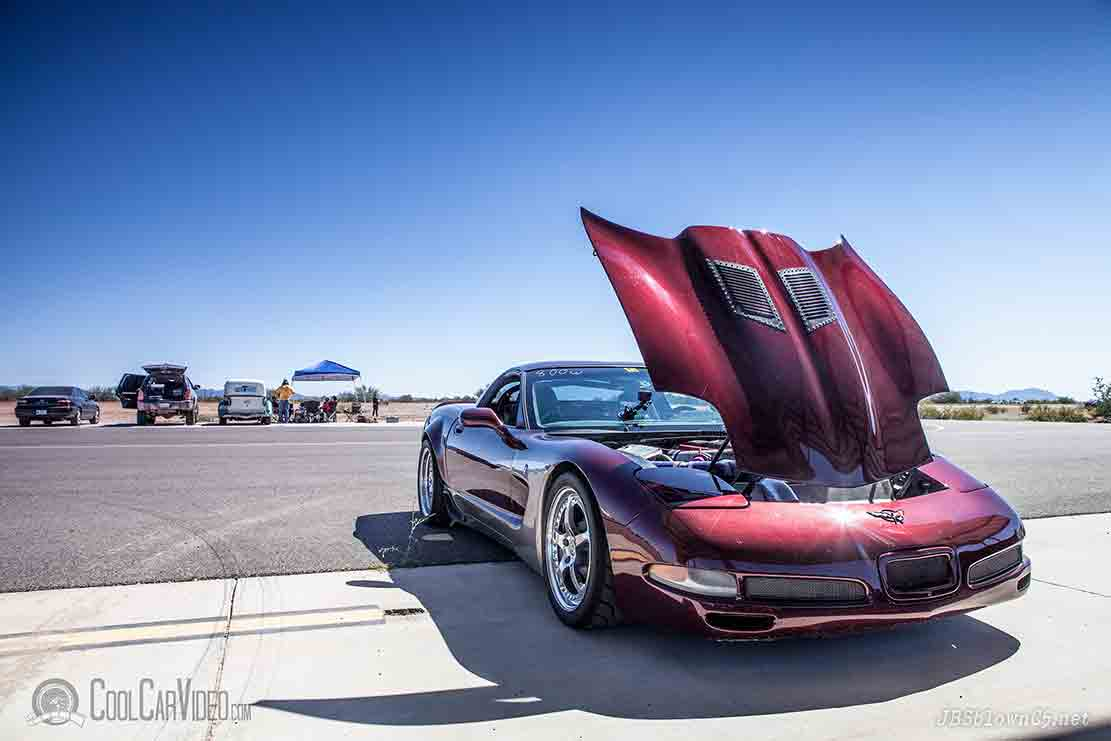 blown corvette