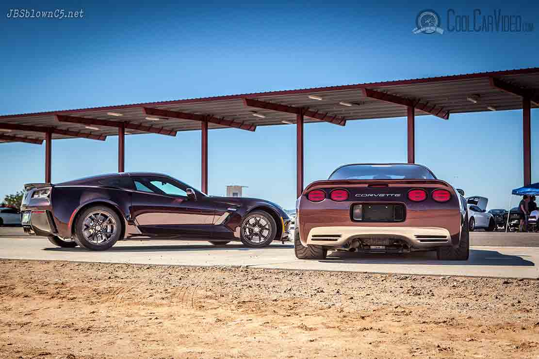 corvette photography
