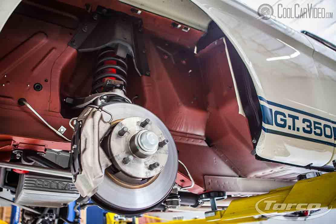 gt350 cobra brakes