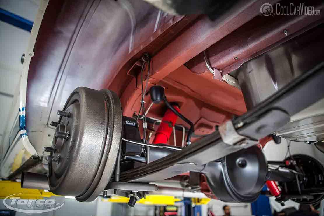 mustang rear brakes