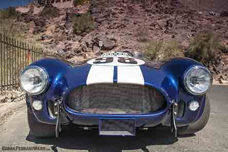 shelby cobra front