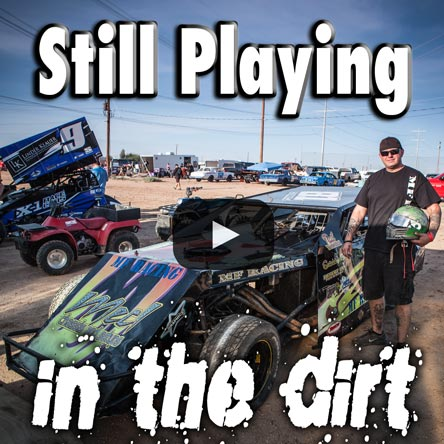 still playhing in the dirt